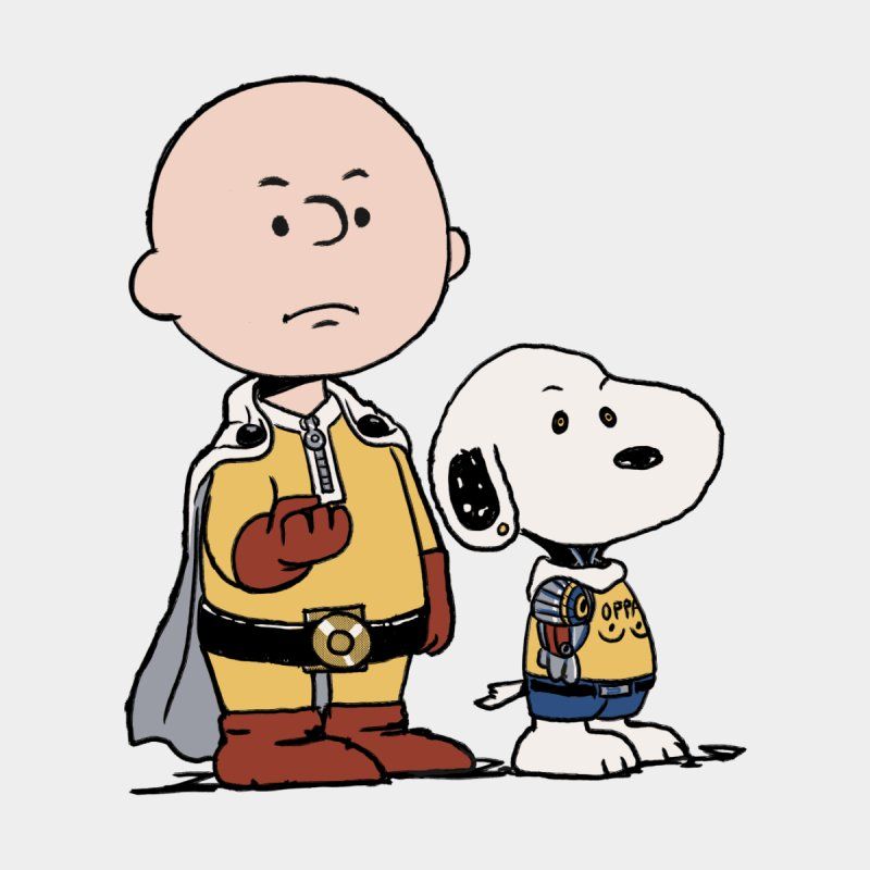 One Punch Peanuts Men's Longsleeve T-Shirt by xiaobaosg
