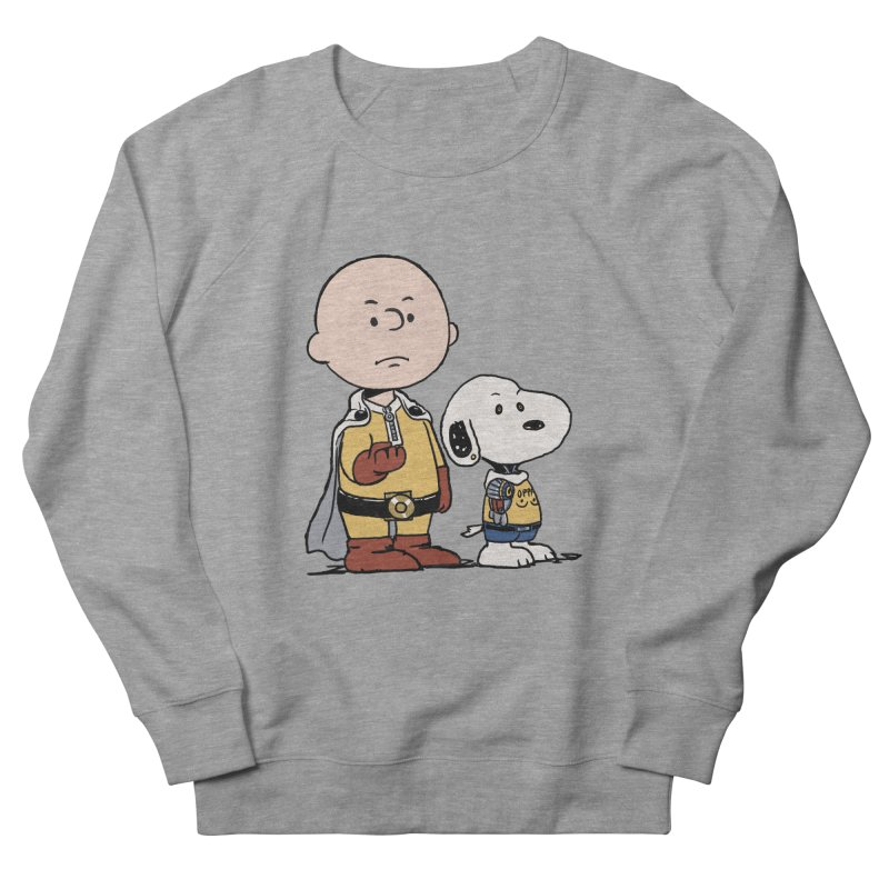 One Punch Peanuts in Men's Sweatshirt Heather Graphite by xiaobaosg