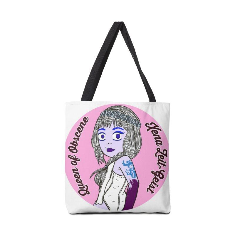 Chibi Queen of Obscene Accessories Tote Bag Bag by Xena Zeit-Geist's Artist Shop