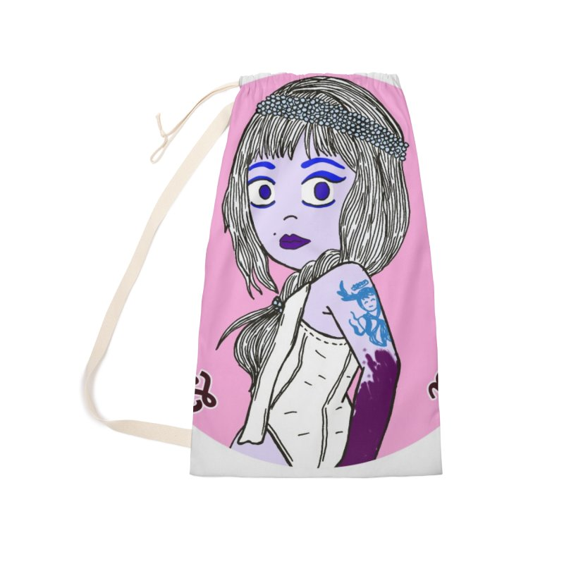 Chibi Queen of Obscene Accessories Laundry Bag Bag by Xena Zeit-Geist's Artist Shop
