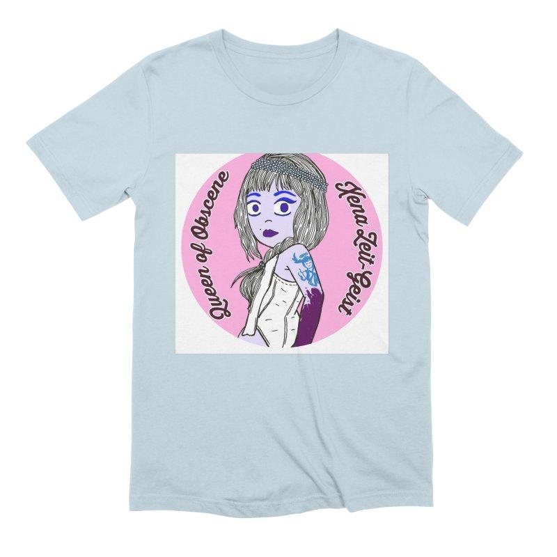 Chibi Queen of Obscene Men's Extra Soft T-Shirt by Xena Zeit-Geist's Artist Shop