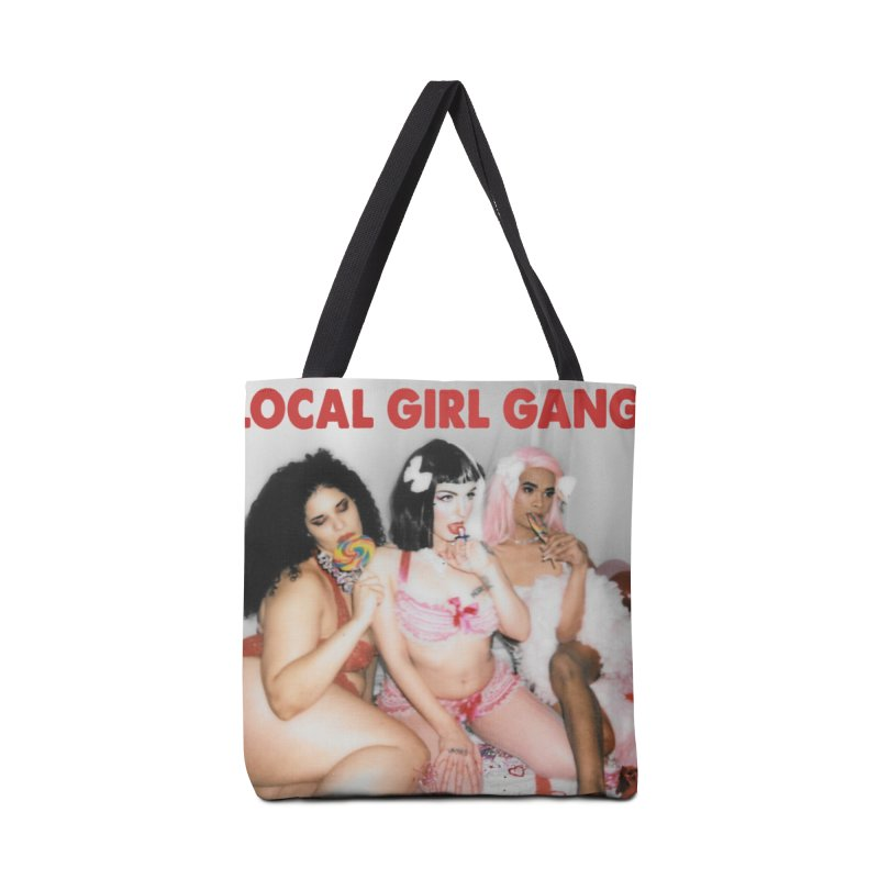 Support Your Local Girl Gang! Accessories Tote Bag Bag by Xena Zeit-Geist's Artist Shop