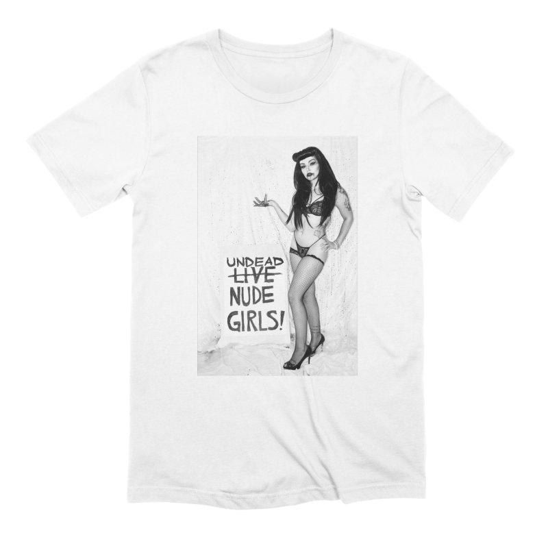 Undead Girls Men's Extra Soft T-Shirt by Xena Zeit-Geist's Artist Shop
