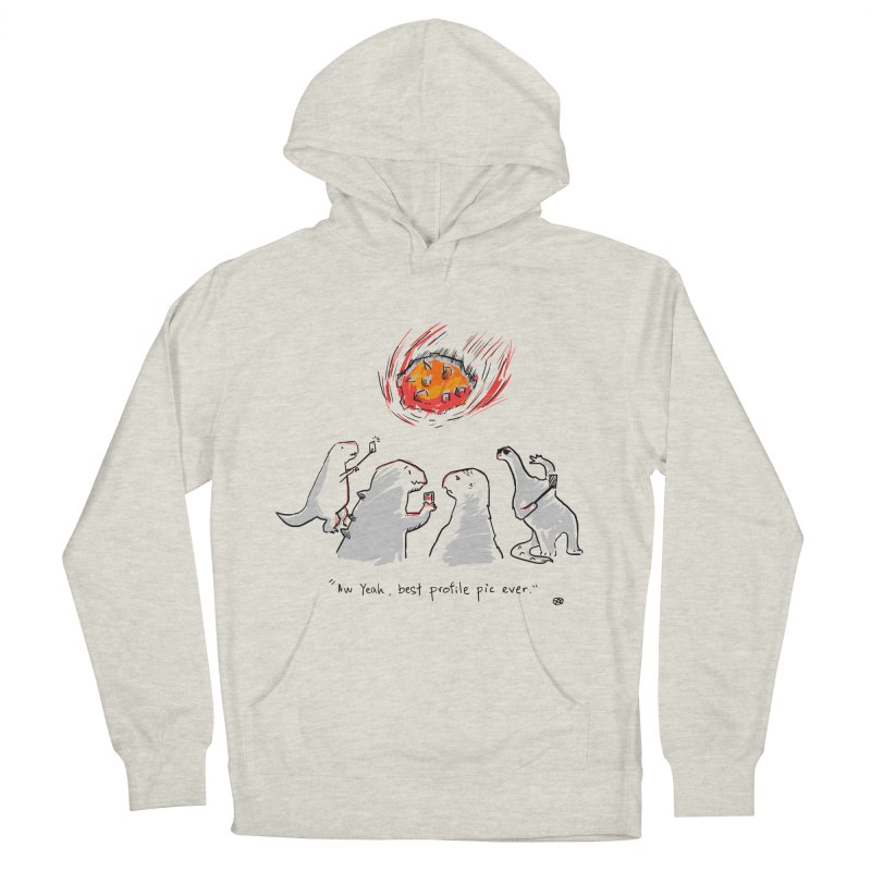 How the dinosaurs died Men's French Terry Pullover Hoody by Wear Bang Now