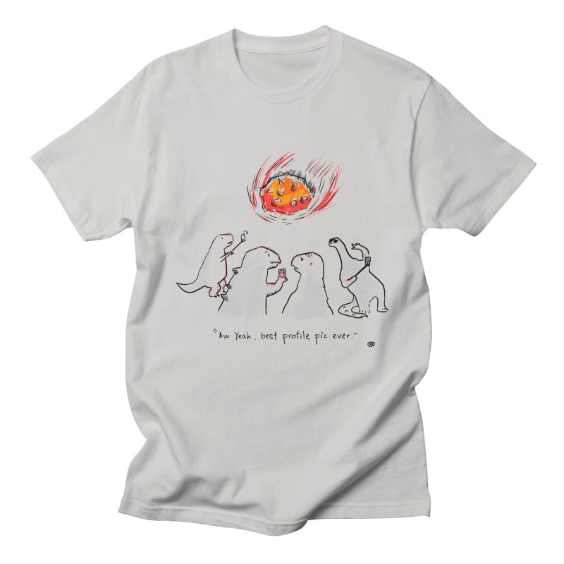How the dinosaurs died Men's Regular T-Shirt by Wear Bang Now
