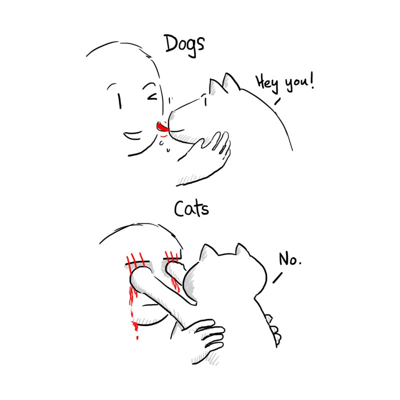 Dogs v Cats by Wear Bang Now