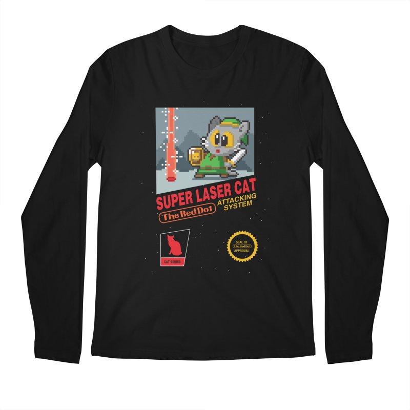 Red Dot Attacking System Men's Regular Longsleeve T-Shirt by Kappacino Creations