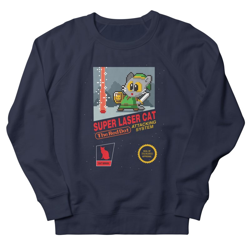 Red Dot Attacking System Men's French Terry Sweatshirt by Kappacino Creations