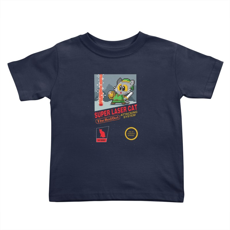 Red Dot Attacking System Kids Toddler T-Shirt by Kappacino Creations