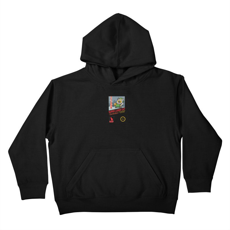 Red Dot Attacking System Kids Pullover Hoody by Kappacino Creations