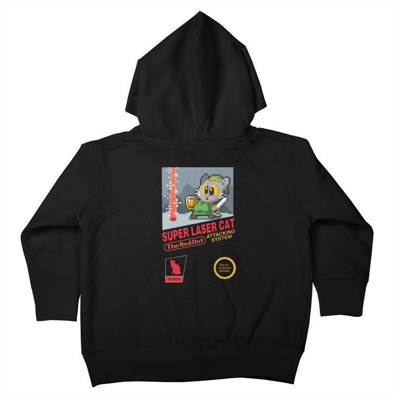 Red Dot Attacking System Kids Toddler Zip-Up Hoody by Kappacino Creations