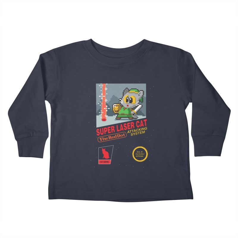 Red Dot Attacking System Kids Toddler Longsleeve T-Shirt by Kappacino Creations