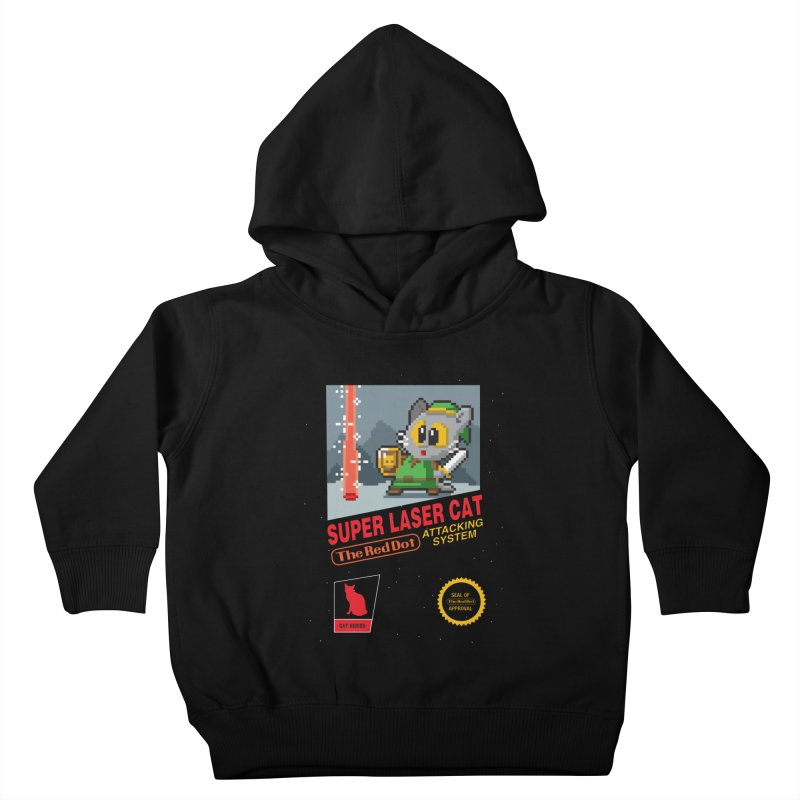 Red Dot Attacking System Kids Toddler Pullover Hoody by Kappacino Creations