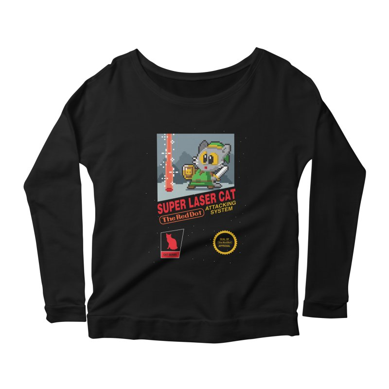 Red Dot Attacking System Women's Longsleeve Scoopneck  by Kappacino Creations