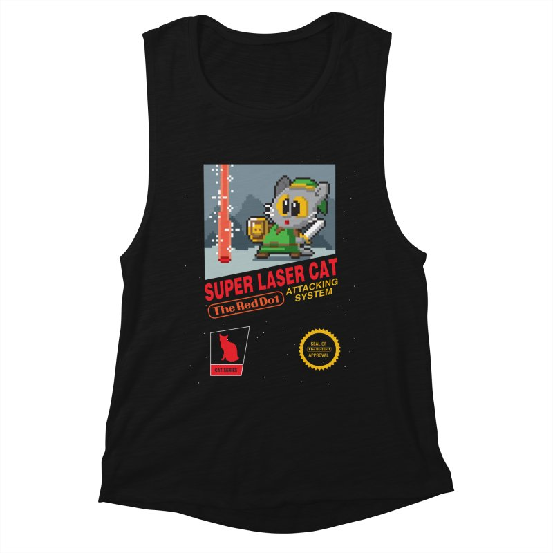 Red Dot Attacking System Women's Muscle Tank by Kappacino Creations
