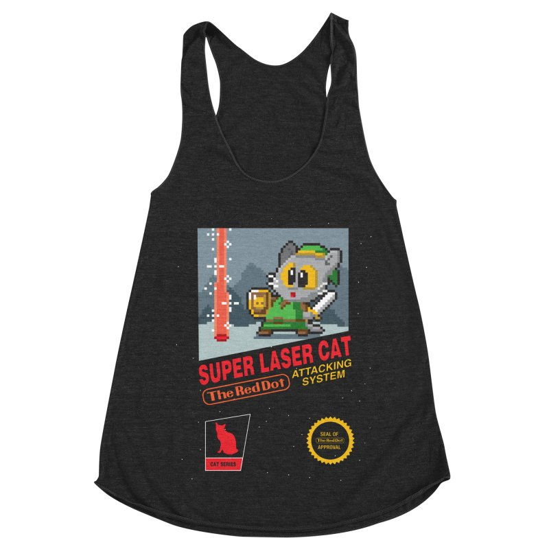 Red Dot Attacking System Women's Racerback Triblend Tank by Kappacino Creations