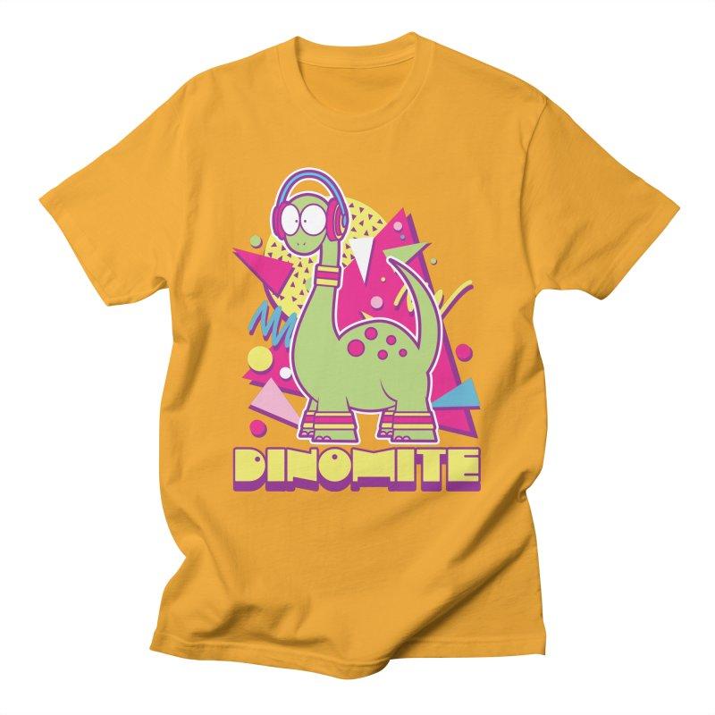 DINOMITE! Men's T-Shirt by Kappacino Creations