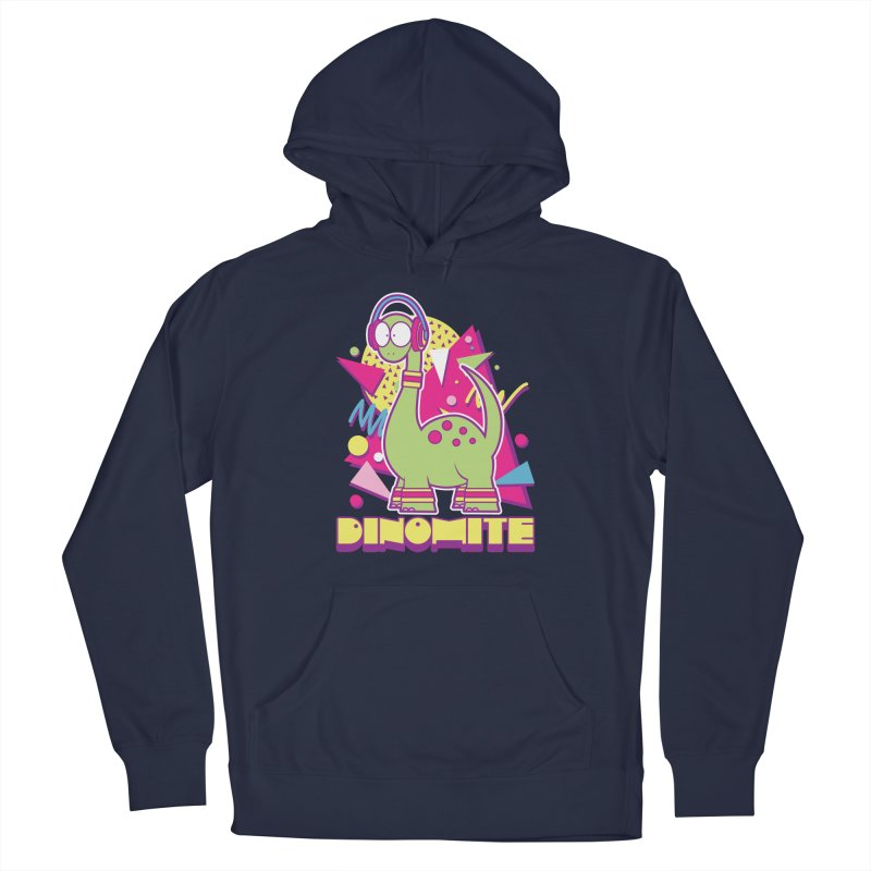 DINOMITE! Men's Pullover Hoody by Kappacino Creations