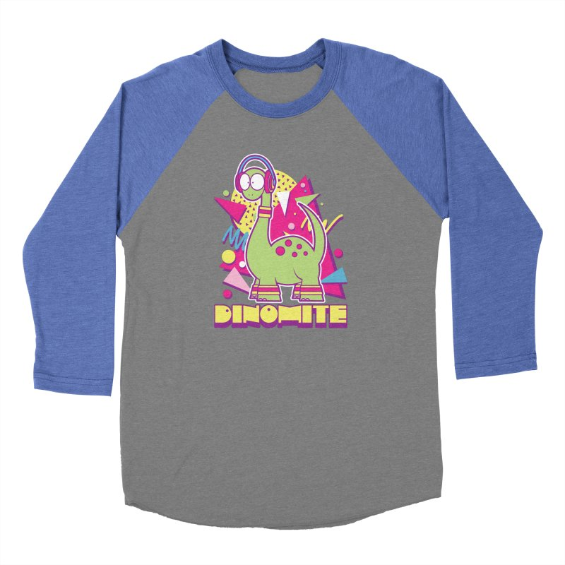 DINOMITE! Women's Longsleeve T-Shirt by Kappacino Creations