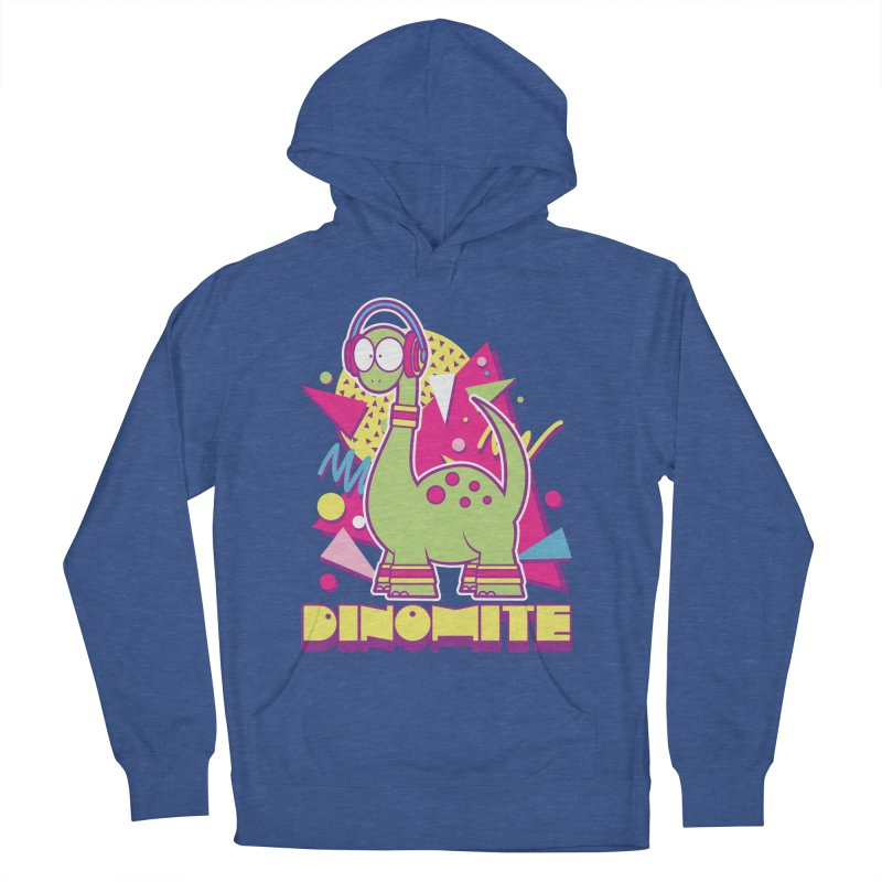 DINOMITE! Women's French Terry Pullover Hoody by Kappacino Creations
