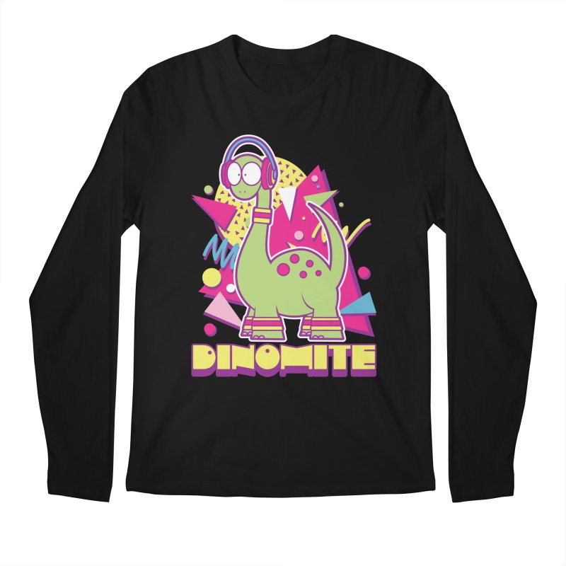 DINOMITE! Men's Regular Longsleeve T-Shirt by Kappacino Creations