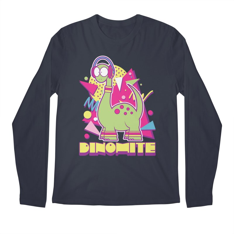 DINOMITE! Men's Longsleeve T-Shirt by Kappacino Creations