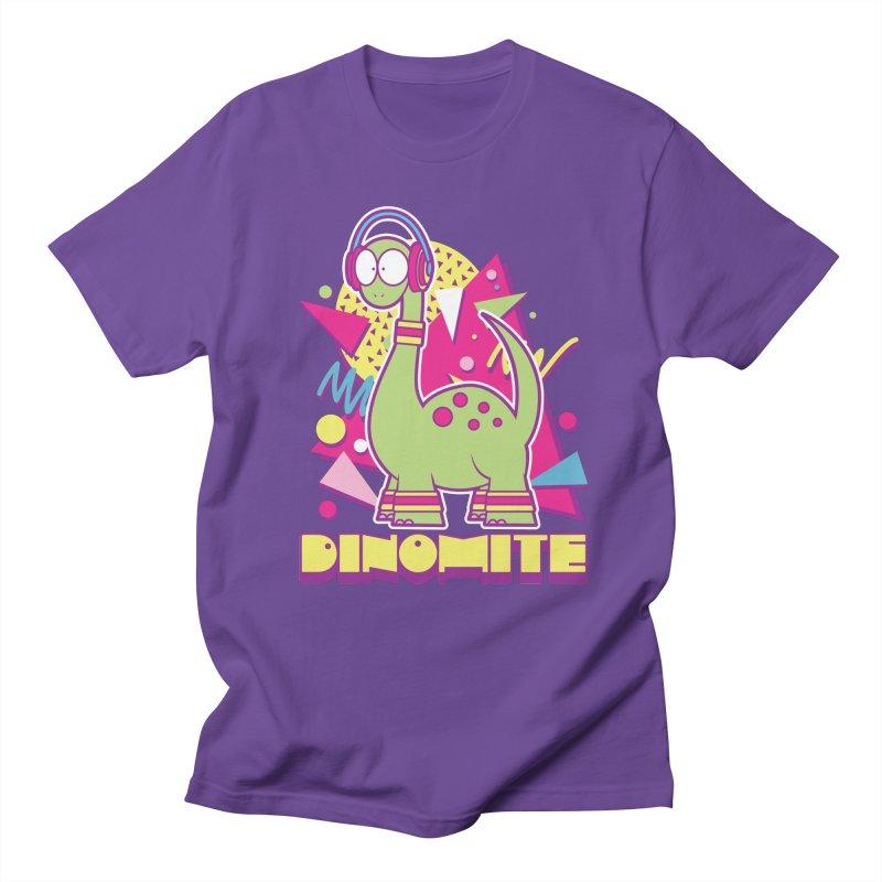 DINOMITE! Men's Regular T-Shirt by Kappacino Creations
