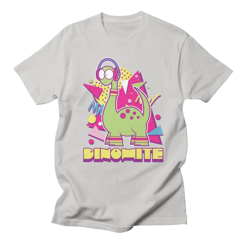 DINOMITE! Men's Regular T-Shirt by Kappacino Creations