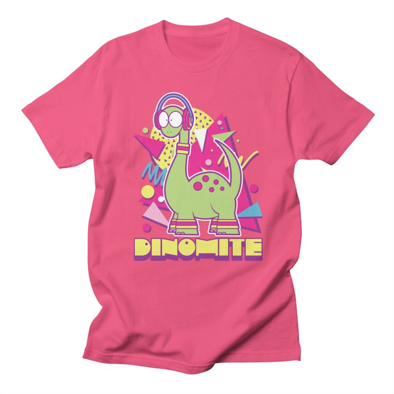 DINOMITE! Men's T-Shirt by Kappacino Creations