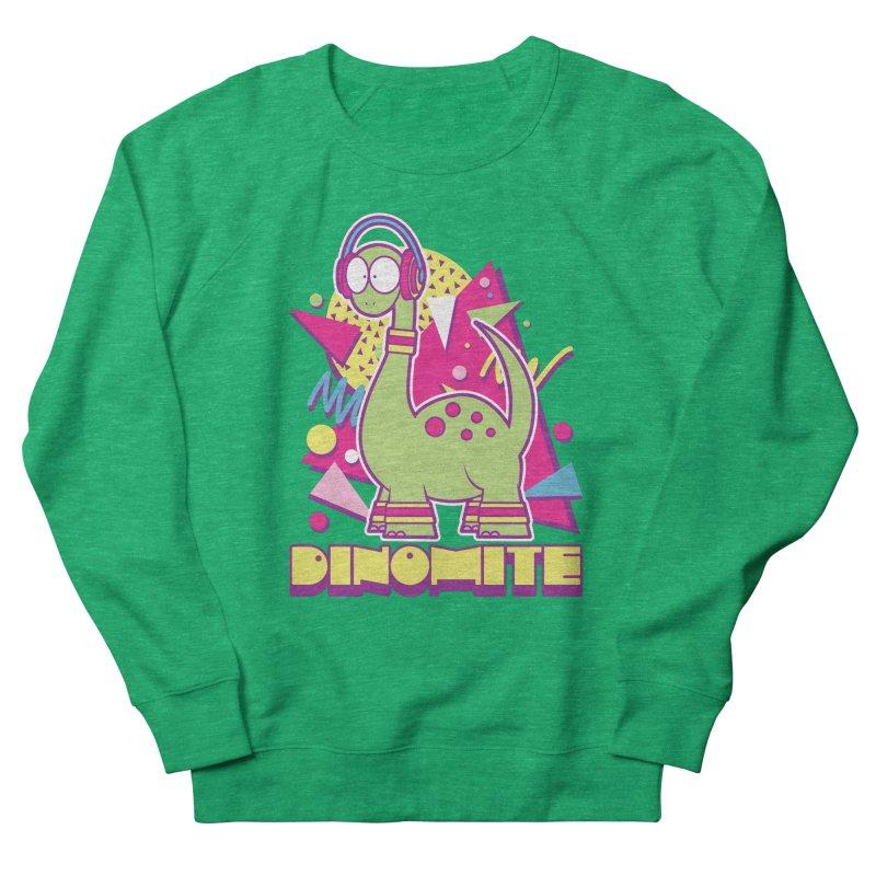 DINOMITE! Men's French Terry Sweatshirt by Kappacino Creations