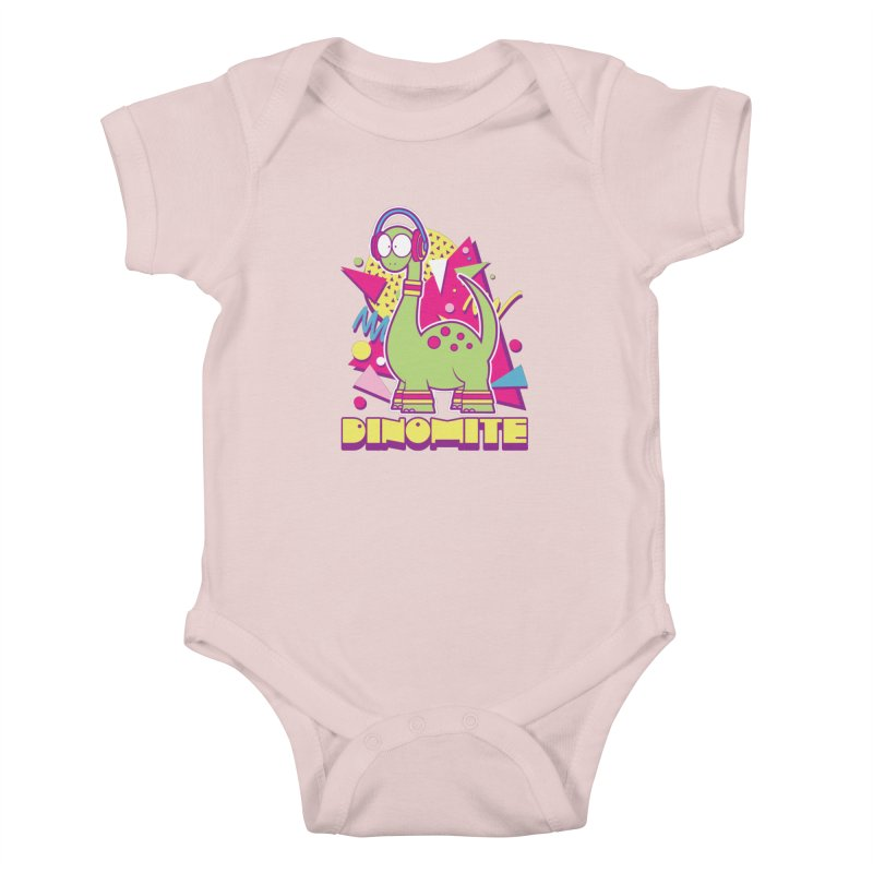 DINOMITE! Kids Baby Bodysuit by Kappacino Creations