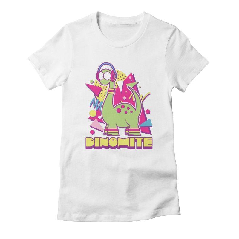 DINOMITE! Women's T-Shirt by Kappacino Creations