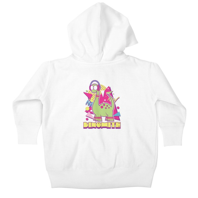 DINOMITE! Kids Baby Zip-Up Hoody by Kappacino Creations