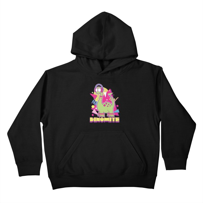DINOMITE! Kids Pullover Hoody by Kappacino Creations