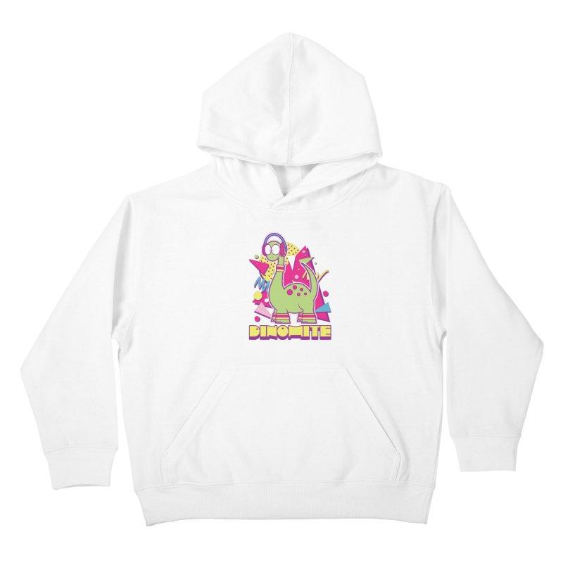 DINOMITE! Kids Pullover Hoody by Kappacino Creations