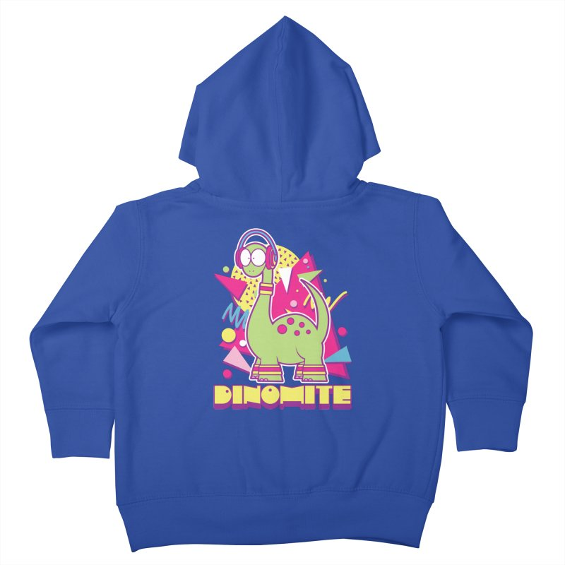 DINOMITE! Kids Toddler Zip-Up Hoody by Kappacino Creations