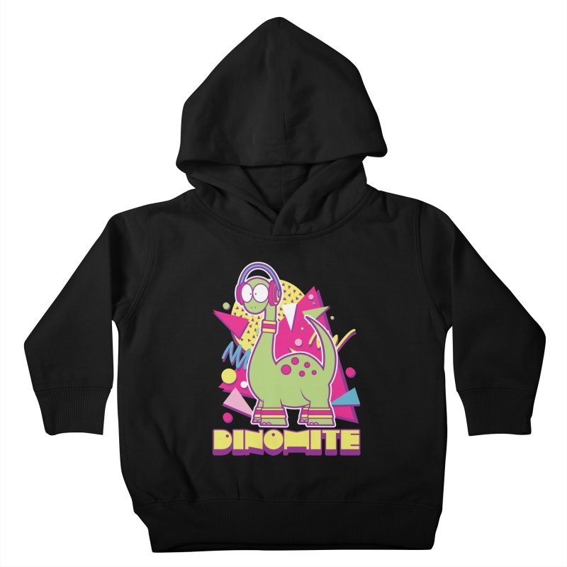 DINOMITE! Kids Toddler Pullover Hoody by Kappacino Creations