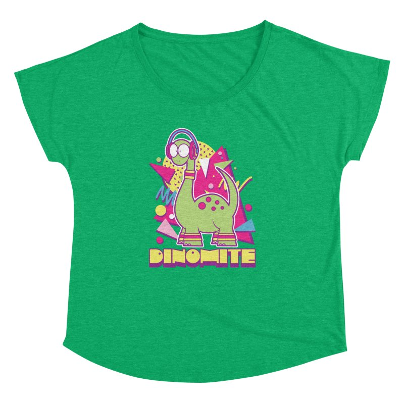 DINOMITE! Women's Dolman by Kappacino Creations