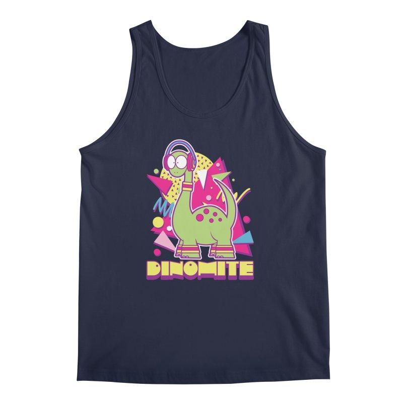 DINOMITE! Men's Regular Tank by Kappacino Creations