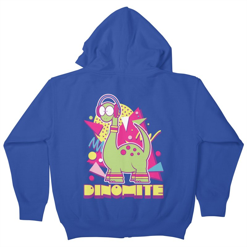 DINOMITE! Kids Zip-Up Hoody by Kappacino Creations