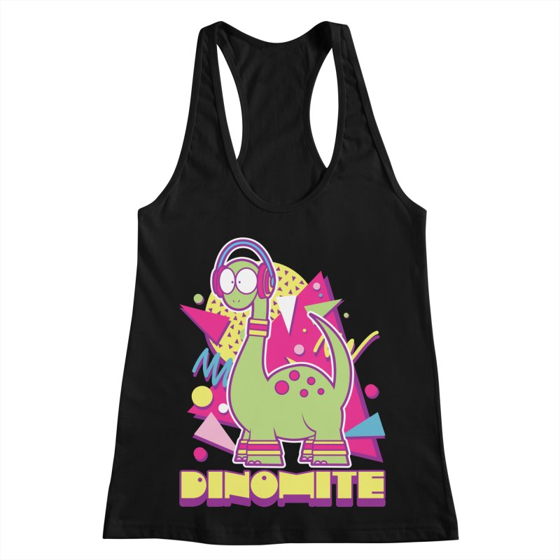 DINOMITE! Women's Racerback Tank by Kappacino Creations