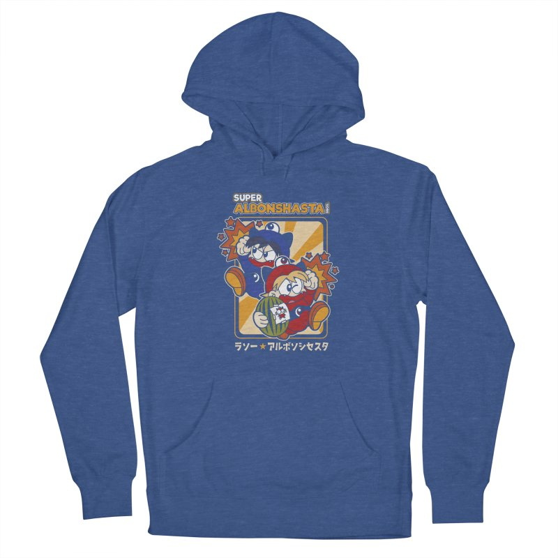 Super Albonshasta Bros.  Women's Pullover Hoody by Kappacino Creations