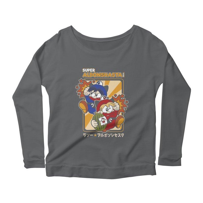 Super Albonshasta Bros.  Women's Longsleeve T-Shirt by Kappacino Creations