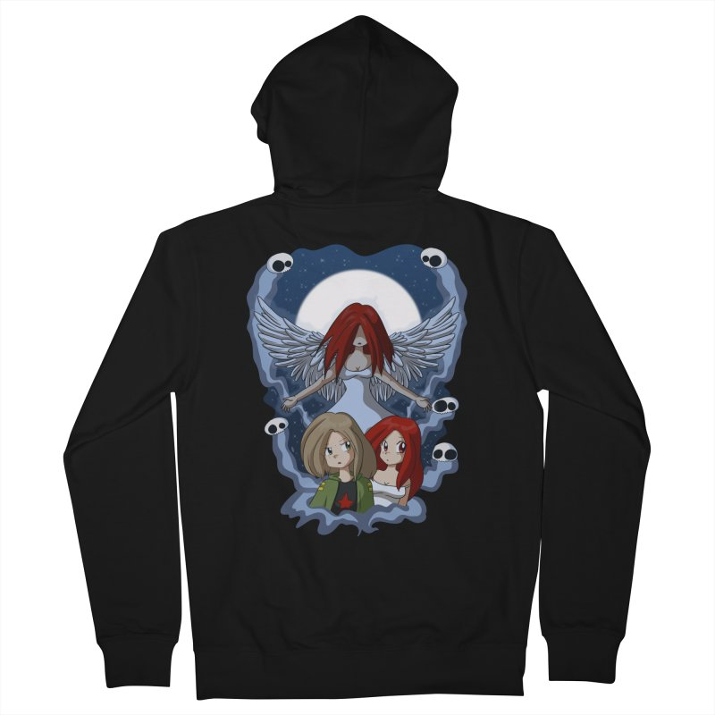 Nightmare Women's French Terry Zip-Up Hoody by Kappacino Creations