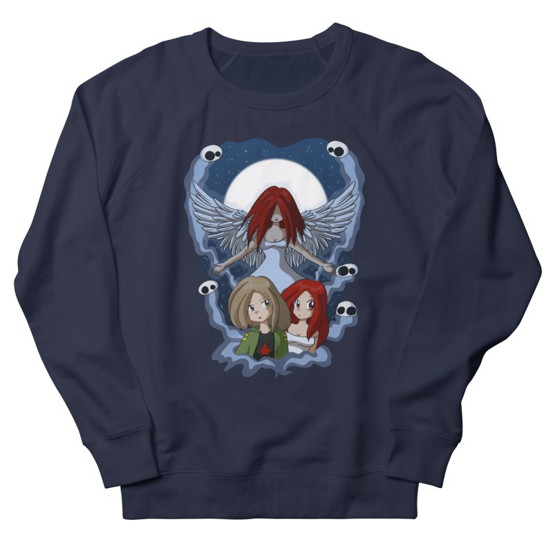 Nightmare Men's French Terry Sweatshirt by Kappacino Creations