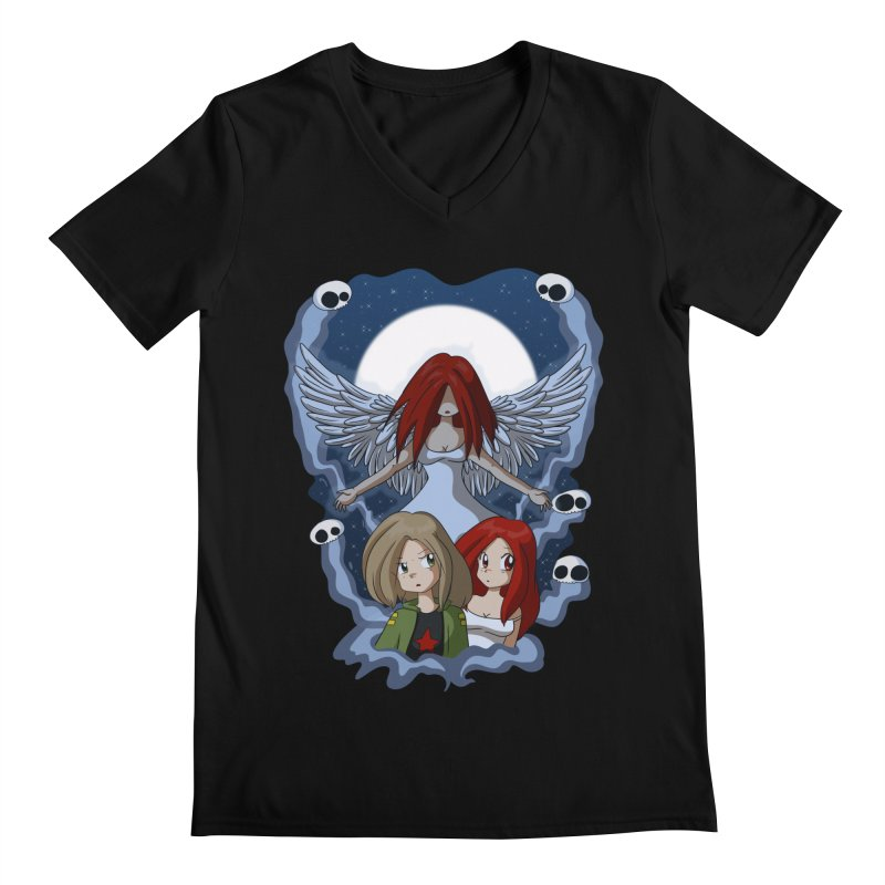 Nightmare Men's Regular V-Neck by Kappacino Creations
