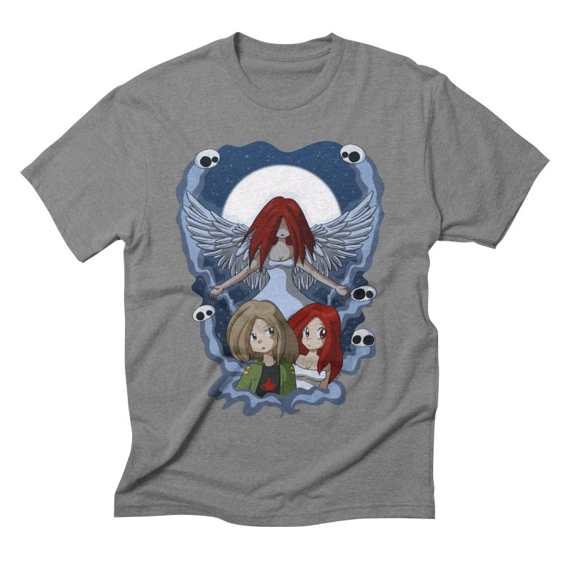 Nightmare Men's Triblend T-shirt by Kappacino Creations