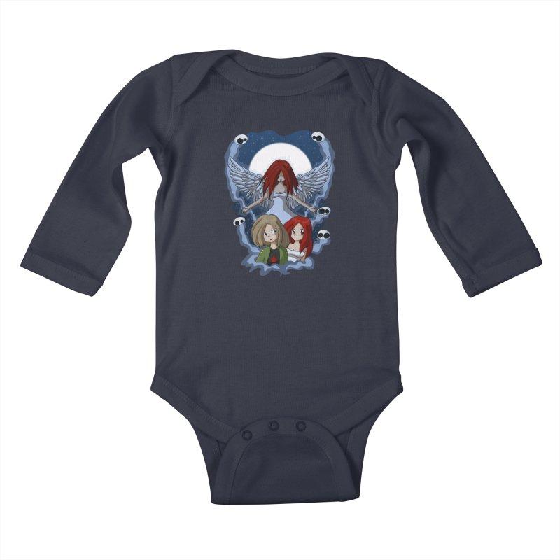Nightmare Kids Baby Longsleeve Bodysuit by Kappacino Creations