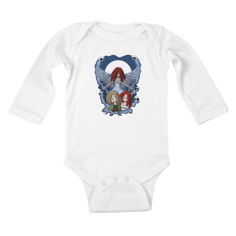 Nightmare Kids Baby Longsleeve Bodysuit by Kappacino Creations