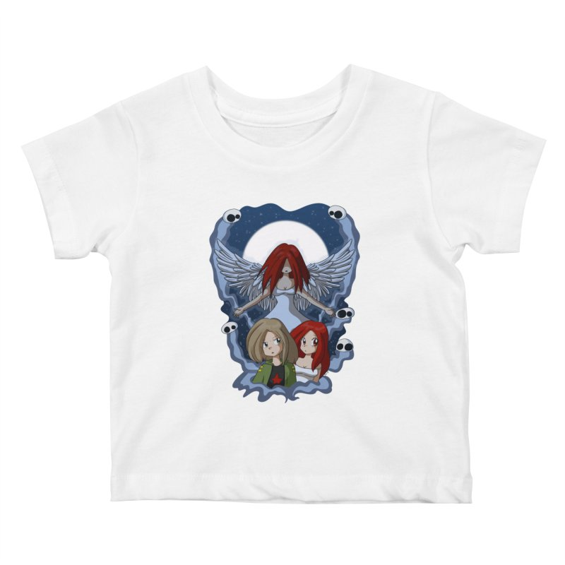 Nightmare Kids Baby T-Shirt by Kappacino Creations